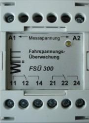 WITT TVM 4 | FSM300 Fahrspannungsmonitoring